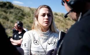 La jeune pilote allemande Sophia Flörsch a été victime d'un énorme crash en Formule 3, le 18 novembre 2018.