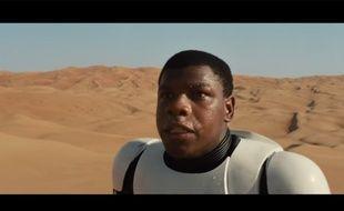 L'acteur John Boyega dans «Star Wars VII».