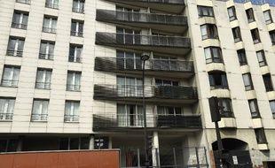 L'immeuble de la rue Marx-Dormoy.