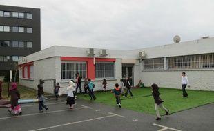 Ecole de confession musulmane Al-Badr, hors contrat, installée dans le quartier toulousaine de Bellefontaine.
