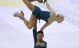 Les Allemands Aliona Savchenko et Robin Szolkowy ont décroché leur 4e titre mondial avec un total de 201,49 points, lors des Mondiaux-2012 de patinage artistique, vendredi à Nice.