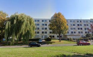 Une résidence universitaire de Villeneuve d'Ascq.
