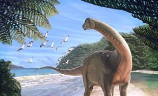 Mansourasaurus est un nouveau dinosaure découvert dans le Sahara égyptien.