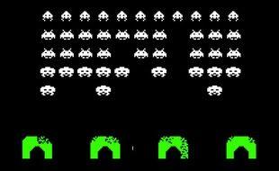 Le jeu vidéo Space Invader.