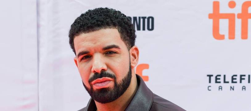Le chanteur Drake