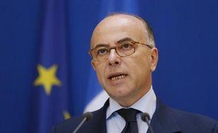 Le ministre de l'Intérieur Bernard Cazeneuve à Paris, le 1er juin 2014