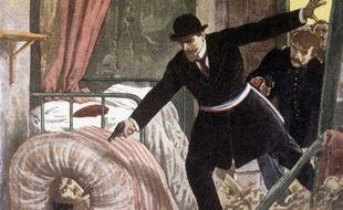 Arrestation de Bonnot