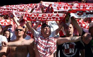 Un supporter polonais à Nice, le 12 juin 2016.
