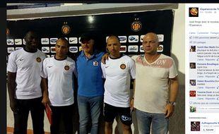 Le nouveau staff de José Anigo