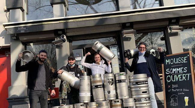 Lille: Pour ne pas jeter leurs fûts, dix bars lillois vendent leur bière à prix cassés