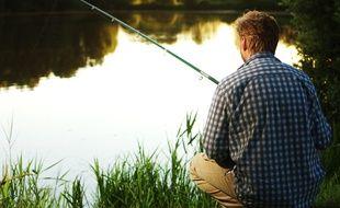 Un pêcheur en eau douce. (Illustration)