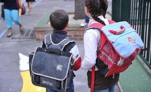 Rentrée scolaire à Paris en 2010.