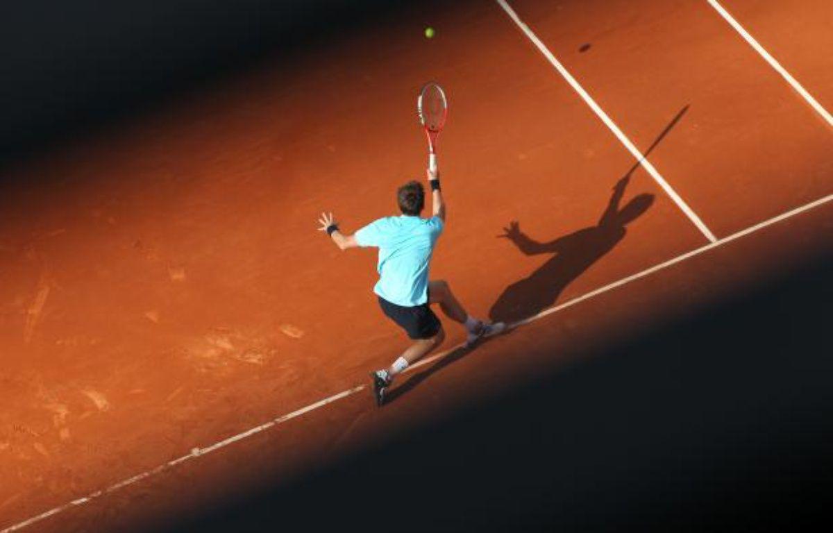 Le joueur français Nicolas Mahut, lors de son match à Roland-Garros, le 27 mai 2012. – F.Lenoir/REUTERS