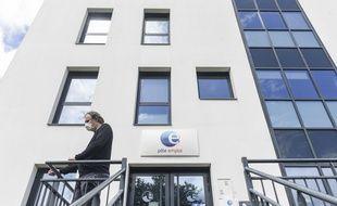 Devant une agence Pôle emploi de Nantes. (illustration)