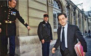 Ministre du Budget en 1993, Nicolas Sarkozy aurait avalisé le contrat au cœur du scandale.