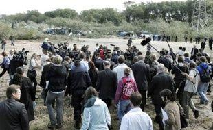 Lors du démantèlement très médiatique de la « jungle » de Calais, le 22 septembre.