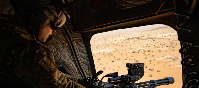 Un militaire de l'opération Barkhane au Mali en opération. (archives)