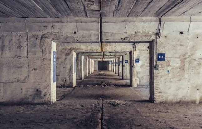 Les anciennes salles qui devaient accueillir les sous-marins, et qui accueilleront les prochaines salles des machines de stockage.