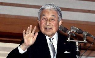 L'empereur du Japon Akihito abdiquera en avril 2019.