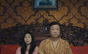 Awkwafina et Tzi Ma dans «L'Adieu» de Lulu Wang