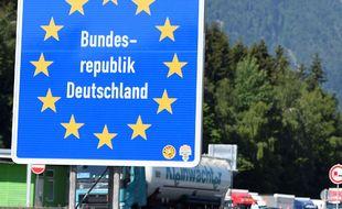 La frontière allemande (illustration).