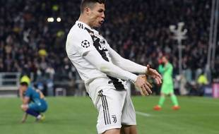 La célébration polémique de Ronaldo lors de Juventus-Atlético en Ligue des champions.
