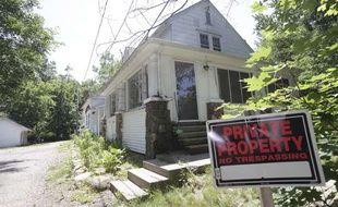 La maison où une femme et sa fille ont été retenues captives pendant deux ans, à Ashland dans l'Ohio, le 19 juin 2013.