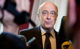 Alain Juppé, le 26 avril 2012 à l'hôtel de ville de Bordeaux