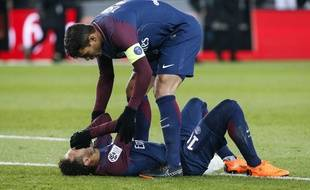 Thiago Silva et Neymar.