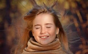 Impossible pour un enfant atteint du syndrome des cheveux incoiffables d'avoir des cheveux aussi démelés.