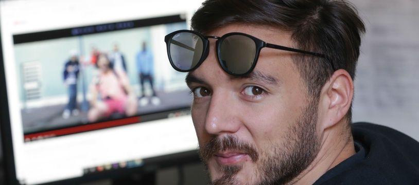 Hugo Roth Raza, youtubeur Strasbourgeois. Le 15 octobre 2019.