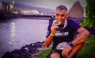 Laurent Jalabert a décroché à Hawaï le titre de vice-champion du monde d'Ironman dans sa catégorie d'âge, dans la nuit de samedi à dimanche.