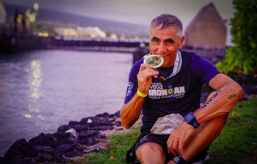 Laurent Jalabert décroche une (nouvelle) médaille au championnat du monde d'Ironman