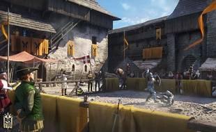 Les armes et armures sont gérées avec un très grand réalisme dans le jeu.
