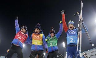Les biathlètes françaises ont empoché le bronze sur le relais.