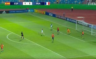 Les Bleuets ont explosé l'Espagne en quarts de finale du Mondial U17.