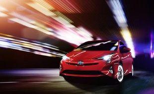 Une photo non datée fournie par Toyota montre la nouvelle Prius du constructeur d'automobiles japonais