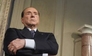 Silvio Berlusconi, le 7 mai 2018, à Rome.