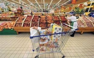 Le gouvernement et les distributeurs tablent pour les prochains mois sur une hausse des prix des produits alimentaires limitée entre 2% et 3% grâce à la baisse des cours des matières premières et à la loi de modernisation de l'économie (LME), mais les industriels sont sceptiques.