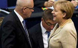 Un cacique du parti conservateur d'Angela Merkel ne s'attend pas à un assouplissement du traité budgétaire européen, même en cas de victoire du candidat socialiste François Hollande à la présidentielle française
