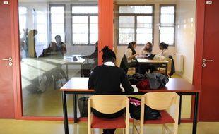 Les élèves de l'internat d'excellence de Sourdun, ouvert en 2009;