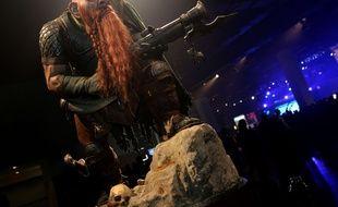 Une statue de nain à la BlizzCon 2011, la conférence annuelle de Blizzard.