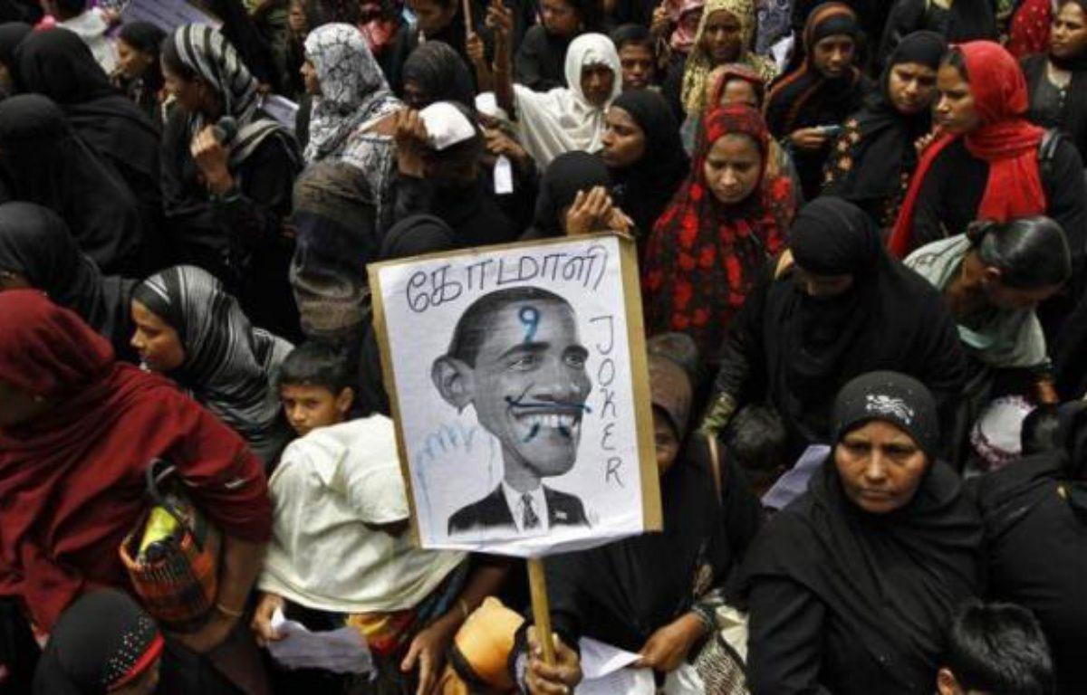 Une manifestation contre la diffusion du film américain anti-islam «L'innocence des musulmans», à Chennai, en Inde, le 15 septembre 2012. – REUTERS / Babu Babu