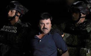 Joaquin «El Chapo» Guzman le 8 janvier 2016 à Mexico.