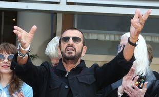 Le musicien Ringo Starr à Hollywood