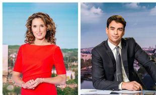 Depuis le 4 janvier 2021, Marie-Sophie Lacarrau et Julian Bugier présente respectivement le 13 heures de TF1 et celui de France 2.