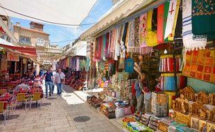 Le marché de la vieille ville de Jérusalem.