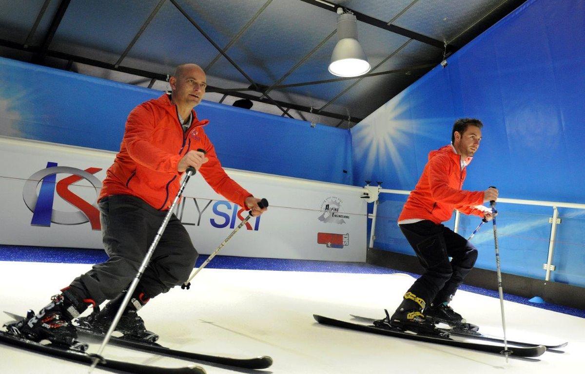 Lyon ouvre la deuxième piste de ski indoor de France. – Urban Ski