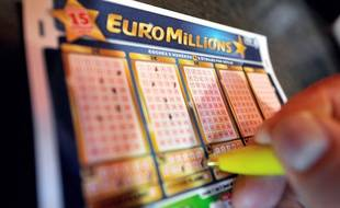Un ticket d'Euro Millions.