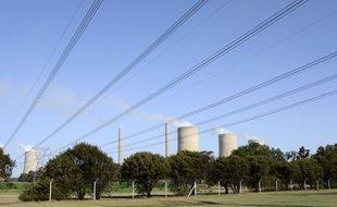 La centrale à charbon de Lethabo, en Afrique du Sud.